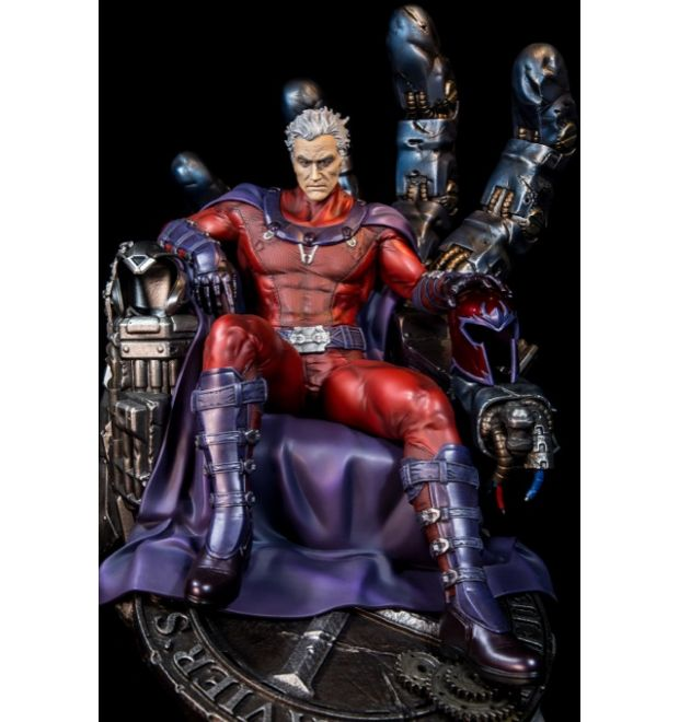 Xm Studios Magneto On Sentinel Throne Statue Simply Toys