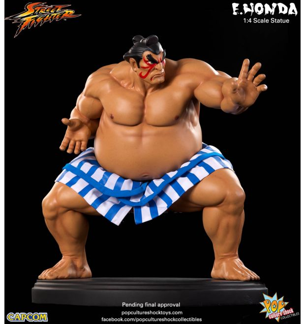 pcs street fighter e honda statue simply toys. Black Bedroom Furniture Sets. Home Design Ideas