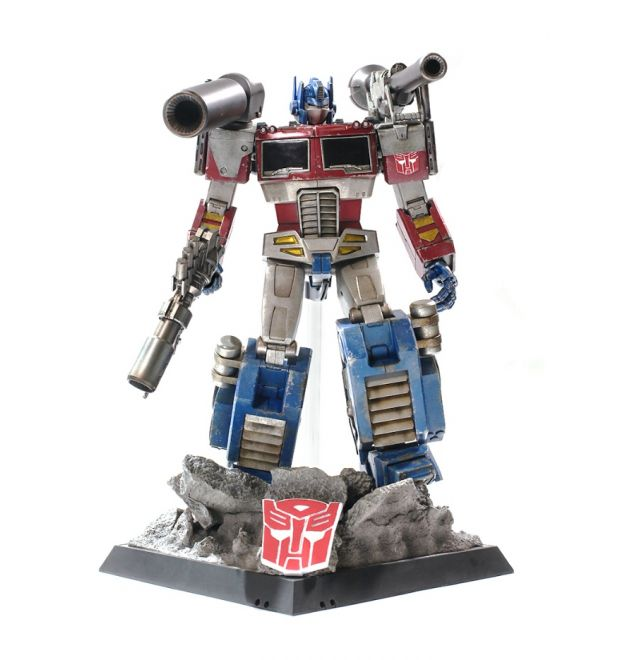 Hot Toys THE TRANSFORMERS G1 Optimus Prime (Megatron ...