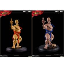 PCS Street Fighter III Oro 1 Pair Player 2 Exclusive & Regular Edition 1/4 Scale Statues