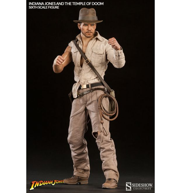 a593249fa8411 Sideshow Collectibles Indiana Jones - Temple of Doom Sixth Scale Figure -  Simply Toys