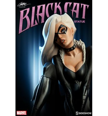 Sideshow Black Cat Statue (J. Scott Campbell Collection)