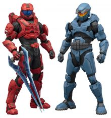 Kotobukiya Halo Mjolnir Mark V and Mark VI DX Twin Pack ARTFX+ Statue