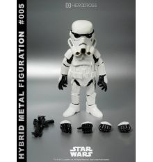 Hero Cross X Star Wars Stormtrooper Hybrid Metal Action Figuration