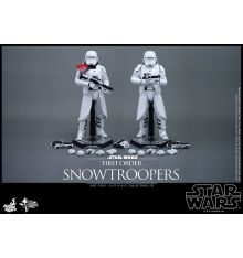 Hot Toys MMS323 Star Wars: TFA Snowtrooper Set Sixth Scale Figures