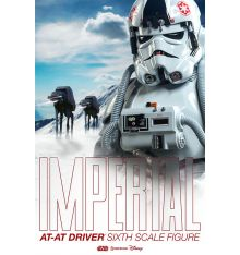 Sideshow Star Wars Imperial AT-AT Driver Sixth Scale Figure