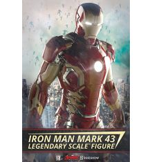 Sideshow Collectibles Iron Man Mark 43 Legendary Scale Figure