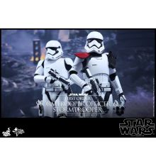 Hot Toys MMS335 Star Wars: TFA First Order Stormtrooper Officer & Stormtrooper Sixth Scale Figure Set