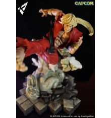 Kinetiquettes Battle of the Brothers - Ken Masters 1/6 Scale Diorama