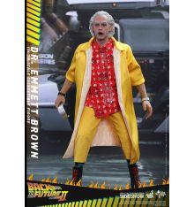 Hot Toys MMS380 Back to the Future Part II - Dr. Emmett Brown 1/6th scale Collectible Figure