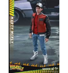 Hot Toys MMS379 Back to the Future Part II - Marty McFly 1/6th scale Collectible Figure