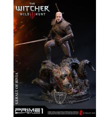 Prime 1 Studio PMW3-01 The Witcher 3: Wild Hunt - Geralt of Rivia 1/4 Scale Statue