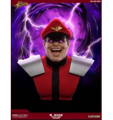 PCS Street Fighter - M.Bison Life-Size Bust - PCS 'Psycho Power' Exclusive