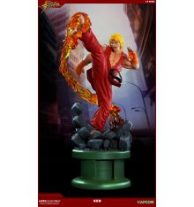 Pop Culture Shock Street Fighter IV - Ken with Dragon Flame 1:4 Scale Statue