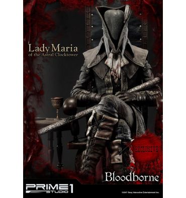 Prime 1 Studio UPMBB-01EX Bloodborne: The Old Hunters - Lady Maria of the Astral Clocktower Statue Exclusive version