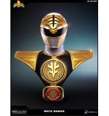 PCS Mighty Morphin' Power Rangers - White Ranger Lifesize Bust