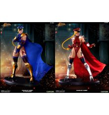 PCS Super Street Fighter IV - Shadaloo Cammy 1:4 Statue - PCS 'Player 2' Exclusive + Regular