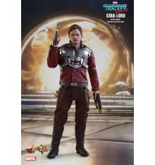 Hot Toys MMS421 GOTG2 Star-Lord Deluxe 1/6th Scale Collectible Figure