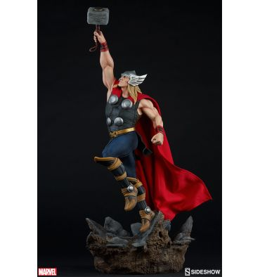 Sideshow Collectibles Avengers Assemble Statue Collection - Thor