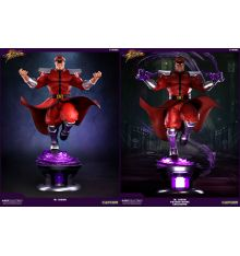 Pop Culture Shock Street Fighter V - M.Bison 1:4 Ultra Regular Statue + 'Psycho Drive' Exclusive Statue
