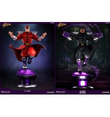 Pop Culture Shock Street Fighter V - M.Bison 1:4 Ultra Regular Statue + 'Player 2' Exclusive Statue