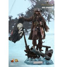 Hot Toys DX15 Pirates of the Caribbean: Dead Men Tell No Tales Jack Sparrow 1/6th Scale Collectible Figure