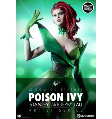 Sideshow Collectibles Stanley Artgerm Lau Artist Series - Poison Ivy Statue