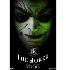 Sideshow Collectibles The Joker: Face of Insanity Life-Size Bust