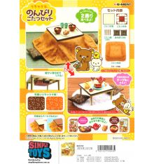 Re-Ment Rilakkuma Kotatsu Table