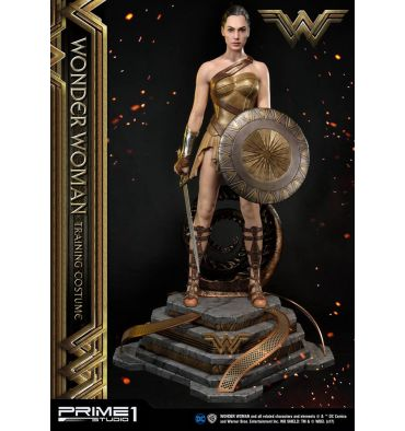 Prime 1 Studio MMWW-01: Wonder Woman Training Costume Statue