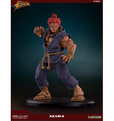 Pop Culture Shock Street Fighter - Akuma 10th Anniversary 1:4 Statue Retail version