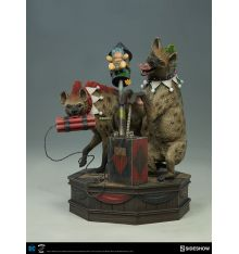 Sideshow Collecibles Super Powers Collection - Bud and Lou (Harley's Hyenas) Maquette by Tweeterhead