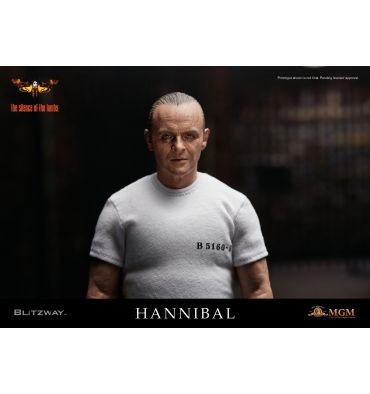 Blitzway The Silence of the Lambs - Hannibal Lecter White Prison Uniform ver.