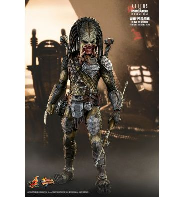 Hot Toys Aliens vs. Predator: REQUIEM - WOLF PREDATOR (HEAVY WEAPONRY) 1/6TH SCALE COLLECTIBLE FIGURE