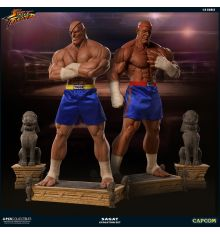 "Pop Culture Shock Street Fighter - Sagat 1:3 Statue PCS ""Evolution Set"" Exclusive"