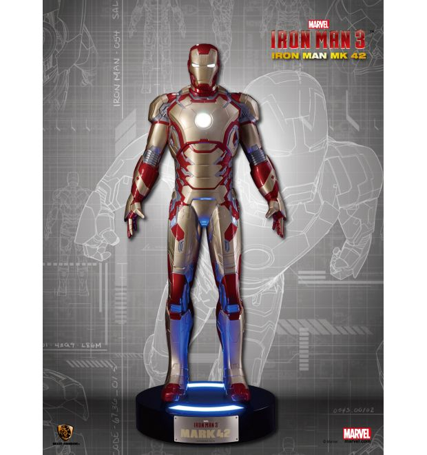 Beast Kingdom Toys Iron Man Mark 42 Life-Size Figure - Simply Toys LLP