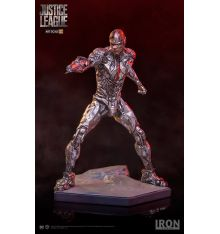 Iron Studios Justice League 1:10 Art Scale Statue - Cyborg