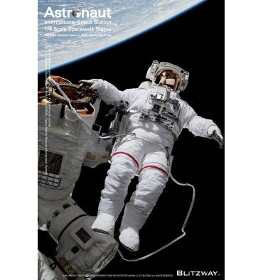 Blitzway Superb Scale Statue - The Real - Astronaut (ISS EMU ver.)