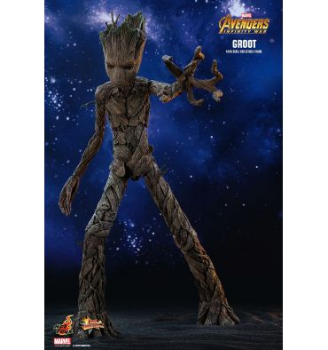 Hot Toys Mms475 Quot Avengers Infinity War Quot Groot 1 6th