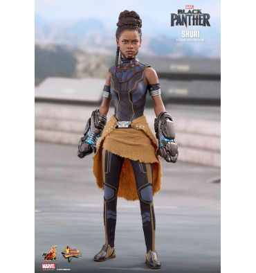 Hot Toys Black Panther 1//6th scale Shuri Collectible Figure MMS501