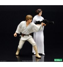 Luke Skywalker & Princess Leia ARTFX+ Statue