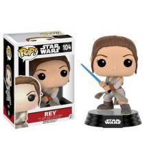 Funko Pop! Star Wars 104: Episode 7 - Rey With Lightsaber