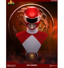 Pop Culture Shock Mighty Morphin' Power Rangers Classic - Red Ranger Lifesize Bust
